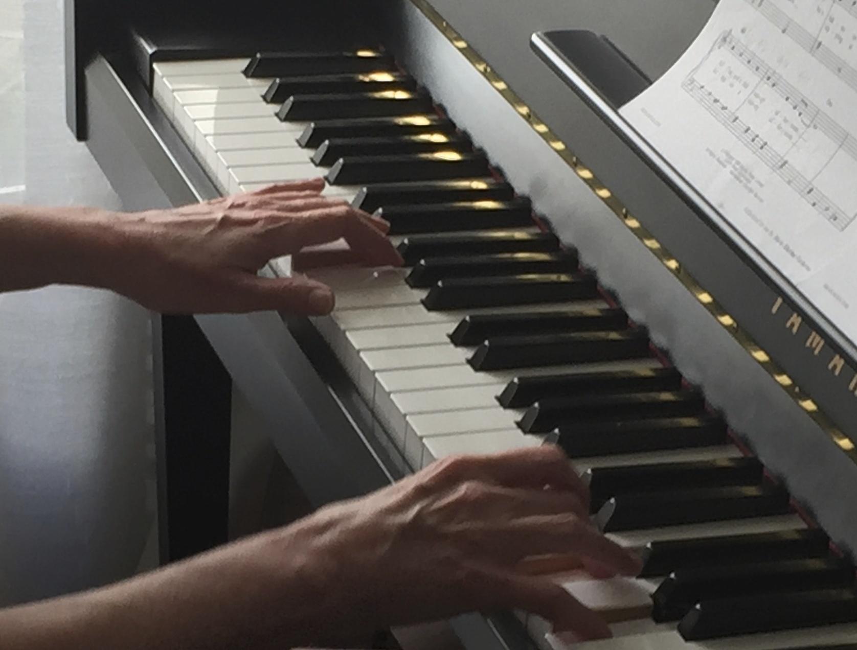Cours piano jazz, blues, pop, musique de films, musique ...
